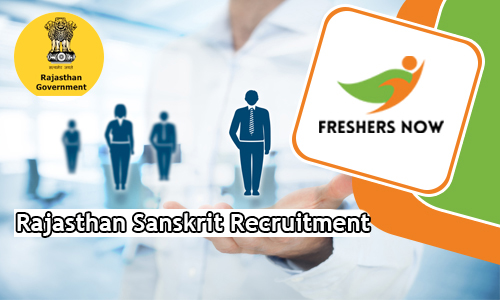 Rajasthan Sanskrit Recruitment