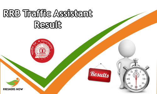 RRB Traffic Assistant Result
