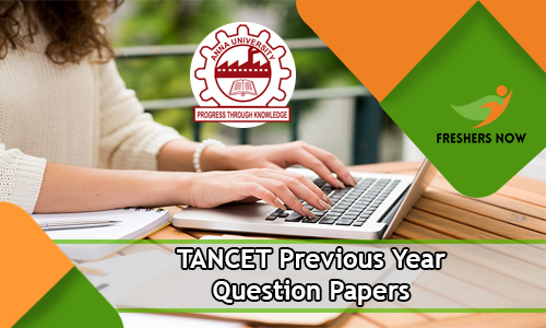 TANCET Previous Year Question Papers
