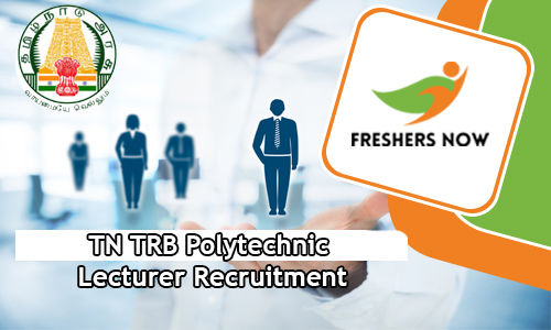 TN TRB Polytechnic Lecturer Recruitment