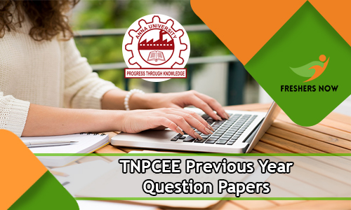 TNPCEE Previous Year Question Papers