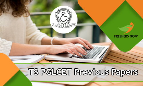 TS PGLCET Previous Papers
