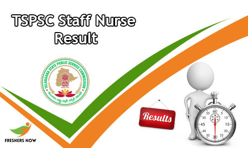 TSPSC Staff Nurse Result
