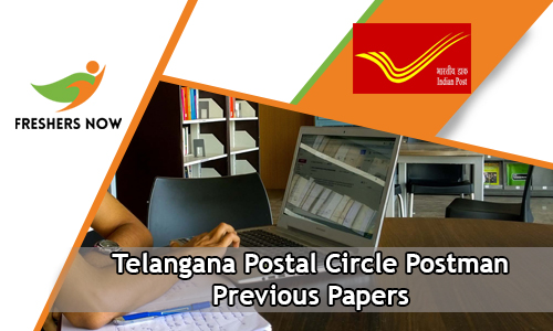 Telangana Postal Circle Postman Previous Papers