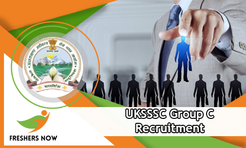 UKSSSC Group C Recruitment