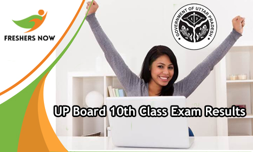 UP Board 10th Class Exam Results