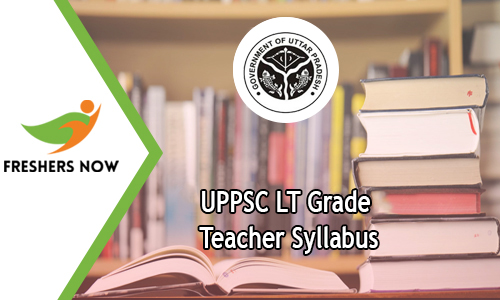 UPPSC LT Grade Teacher Syllabus