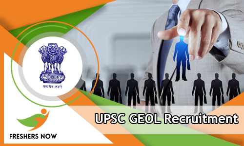 UPSC GEOL Recruitment