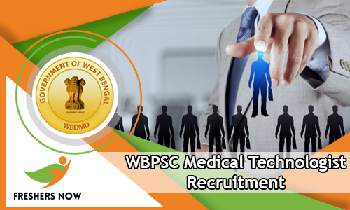 WBPSC Medical Technologist Recruitment