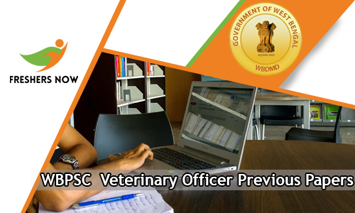 WBPSC Veterinary Officer Previous Papers
