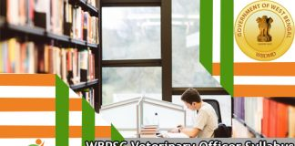WBPSC Veterinary Officer Syllabus