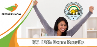 ISC 12th Exam Results