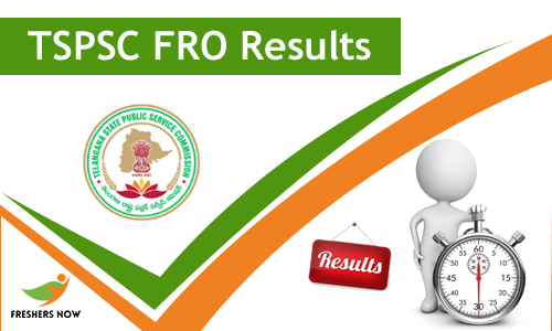 TSPSC FRO Result