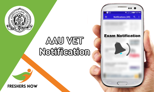 AAU VET Notification
