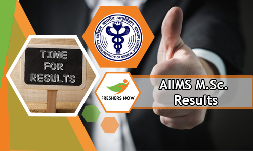 AIIMS M.Sc. Results