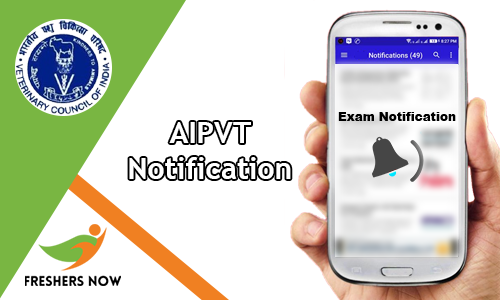 AIPVT Notification