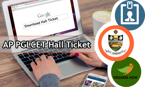 AP PGLCET Hall Ticket