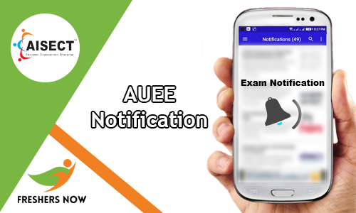 AUEE Notification