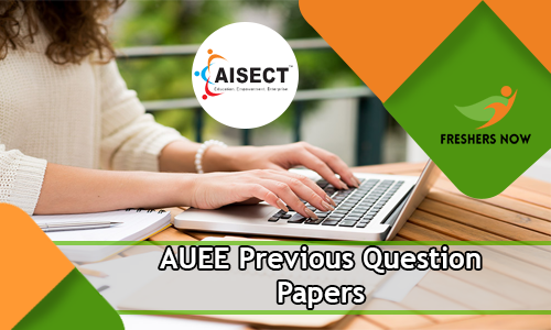 AUEE Previous Question Papers