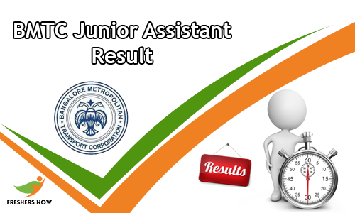 BMTC Junior Assistant Result
