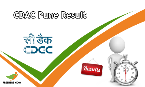 CDAC Pune Result