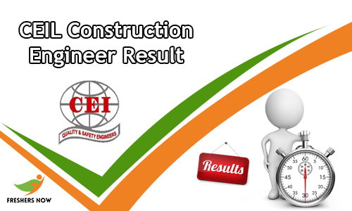 CEIL Construction Engineer Result