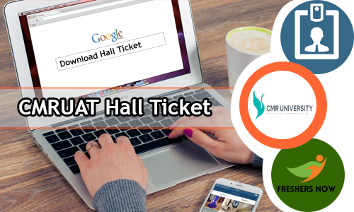 CMRUAT Hall ticket