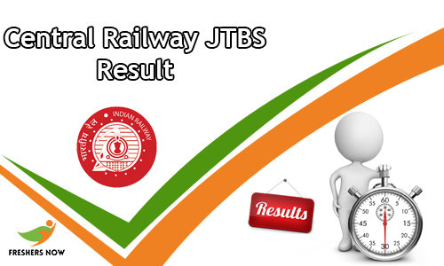 Central Railway JTBS Result