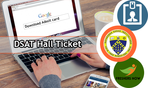 DSAT Hall Ticket