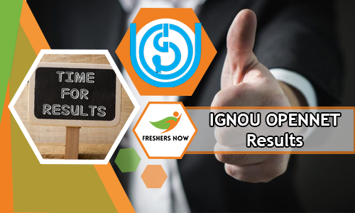IGNOU OPENNET Results