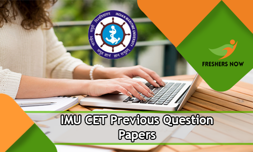 IMU CET Previous Question Papers PDF Download - Indian