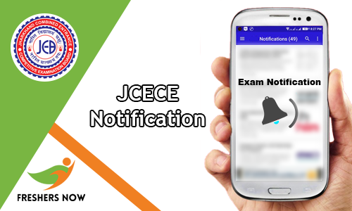 JCECE Notification
