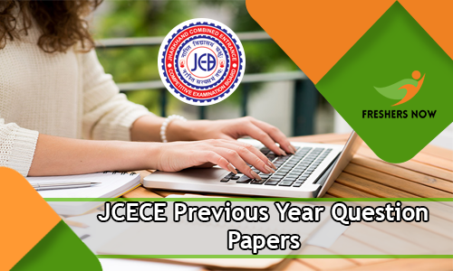 JCECE Previous Year Question Papers