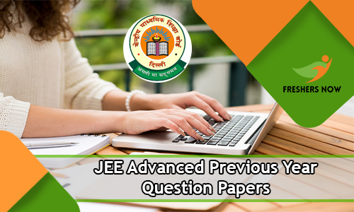 JEE Advanced Previous Year Question Papers
