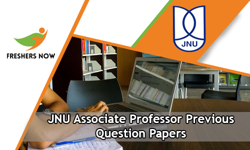 JNU Associate Professor Previous Question Papers