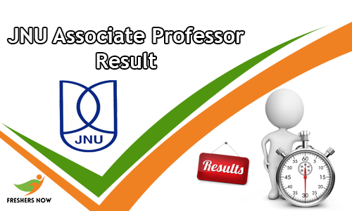 JNU Associate Professor Result