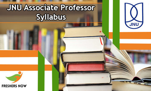 JNU Associate Professor Syllabus