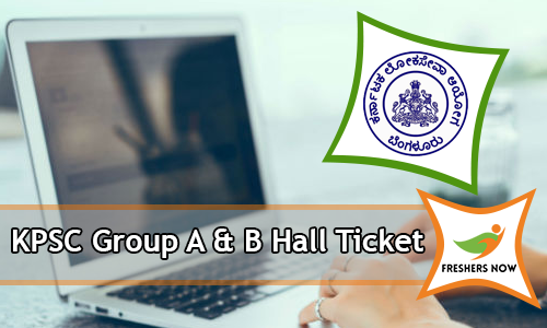 KPSC Group A & B Hall Ticket