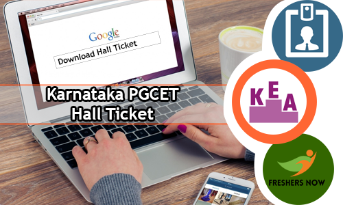 Karnataka PGCET Hall Ticket