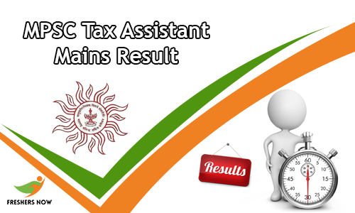 MPSC Tax Assistant Mains Result