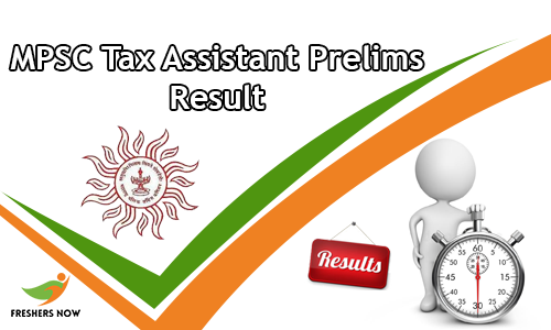 MPSC Tax Assistant Prelims Result