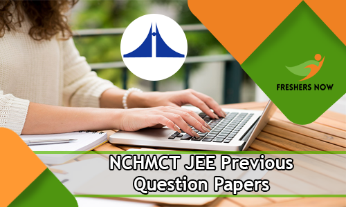 NCHMCT JEE Previous Question Papers