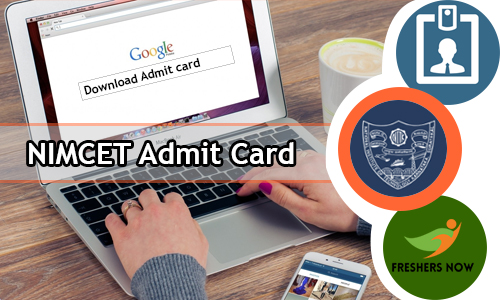 NIMCET Admit Card
