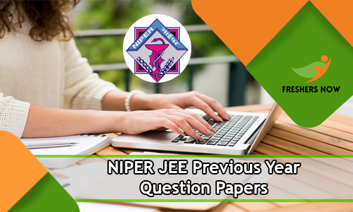 NIPER JEE Previous Year Question Papers