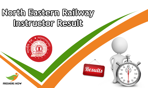 North Eastern Railway Instructor Result