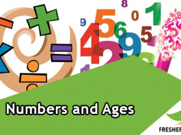 Numbers and Ages Quiz
