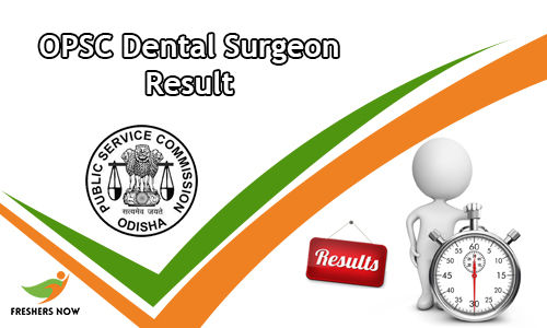 OPSC Dental Surgeon Result
