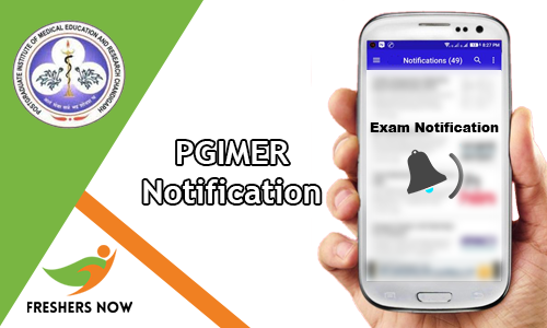 PGIMER Notification