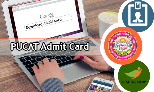PUCAT Admit Card