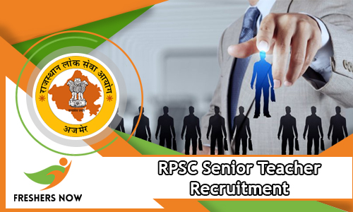 RPSC Senior Teacher Recruitment
